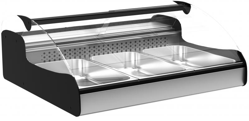 Тепловая витрина A89 SH 1,0-1 (ВТ-1,0 Арго XL ТЕХНО) Полюс от интернет-магазина ГК Холод